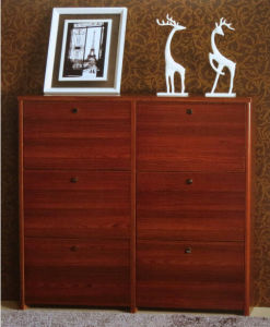 Teak Wooden Shoe Cabinet pictures & photos
