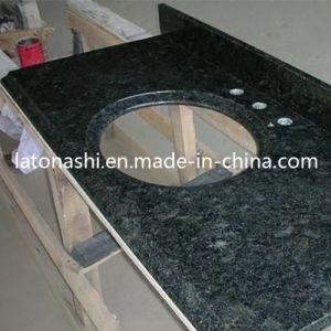 Discount Verde Ubatuba Green Granite Vanity Top for Kitchen, Bathroom pictures & photos