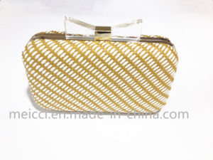 Bowknot Metals clutch Bag, Ladies Party Bags pictures & photos