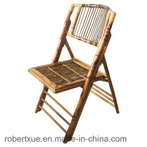 Wholesale Bamboo Folding Chairs for Rent pictures & photos