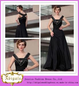 2013 Hot Sale Custom Made a-Line V-Neck Beaded Long Arabic Prom Dresses (SR46) pictures & photos