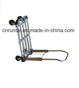 Folding Flatbed Hard Platform Hand Truck pictures & photos