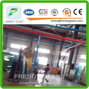 6.38mm Green Colored PVB Laminated Glass/Toughened Glass pictures & photos