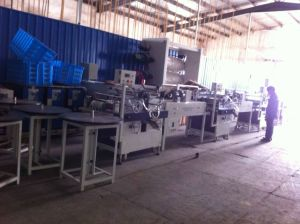 Rehau PVC Edge Banding Extruder, Rehau Edgeband Production Line, Rehau Edge Banding Printing Line pictures & photos