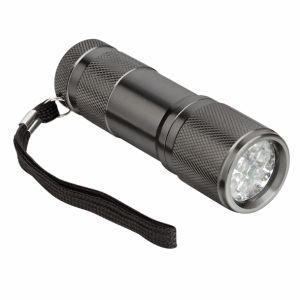 9LED Aluminium Flashlight