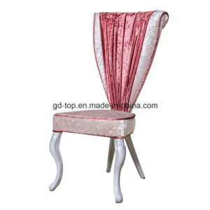 Hotel New Design Luxury Steel Dining King Chairs pictures & photos