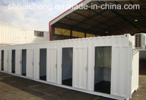 40ft Shipping Container Modified to Separated Shower Room (shs-mc-ablution003) pictures & photos