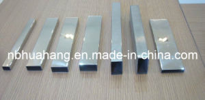 Well Polished Welded Stainless Steel Rectangular Pipes