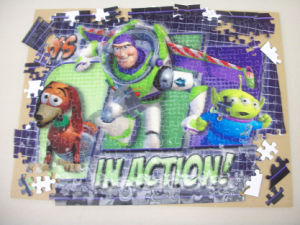 Custom Factory Price 3D Lenticular Funny Jigsaw Puzzle pictures & photos