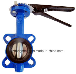 Cast Iron Wafer Butterfly Valve Pn16 Gg25 pictures & photos