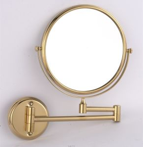 Metal and Chrome Double Side Cosmetic Mirrors (WT-1308A) pictures & photos