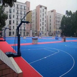 China Facroty Sale PP Interlock Sports Flooring for Tennis Court pictures & photos