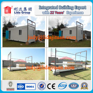 Luxury Detachable Prefabricated Charming Container Home with Furnishing pictures & photos