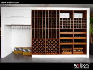 2015 Customized Solid Wood Wine Rack pictures & photos