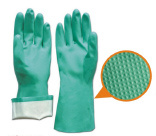 13inch Nitrile Chemical Proof Gloves pictures & photos