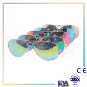 2016 Products Fashion Brand Mirror Round Sunglasses pictures & photos