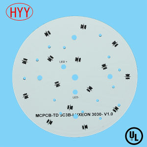 Round Aluminum LED PCB Board with PCB Clone Service (HYY-067) pictures & photos
