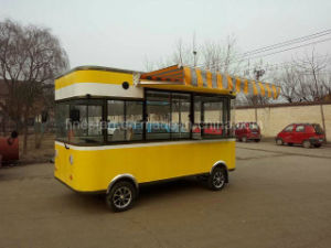 Food Kiosk Dining Car and Moving Grocery Car pictures & photos