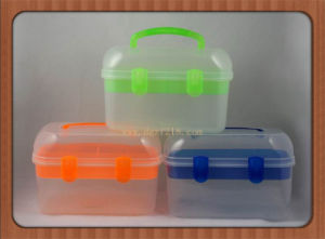 UK Multipurpose Square Plastic Tool Storage Box for Medicine Manufacturer pictures & photos