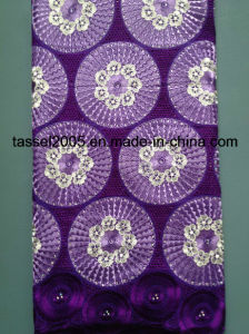 100% Cotton Heavy Swiss Voile Lace/African Big Swiss Lace/Heavy African Laces. pictures & photos