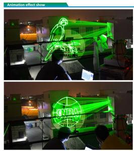 5watt Green 3D Laser Projector Outdoor Wall Buildting for Advertisement