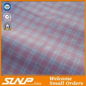 Cotton Yarn Dyed Flannel with Sliver Lurex Fabric