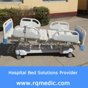 (CE, ISO, Denmark Linak Motor) Five-Function Electric Hospital Bed/Medical Bed pictures & photos