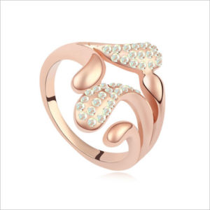 VAGULA Gold Plating Rhinestone Fashion Finger Ring pictures & photos