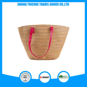 New Fashion and Popular Straw Tote Beach Bag pictures & photos