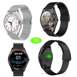 Round Touch Screen Smart Watch Phone (N3) pictures & photos