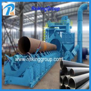 Automactic Steel Pipe Outer Wall Shot Blaster Equipment pictures & photos