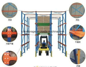 Heavy Duty Drive-in Pallet Racking with High Density pictures & photos