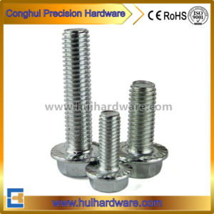Carbon Steel Galvanzied Zinc Plated DIN6921 Hex Flange Bolt pictures & photos
