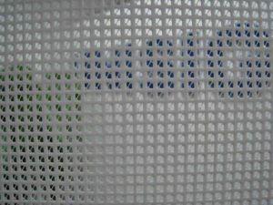 PVC Mesh Banner/1000d*1000d/9*9/270g pictures & photos