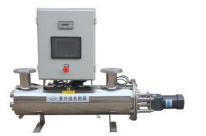 Large Capacity Water Treatment Plant Automatic Cleaning UV Sterilizer pictures & photos