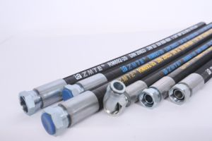 SAE 100r2at High Quality Rubber Hose / Hydraulic Hose Assembly pictures & photos