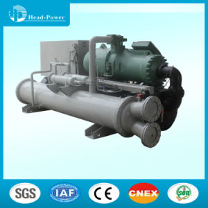 300-1000kw Screw Compressor Water Cooled Water Chiller for Commercial Use pictures & photos