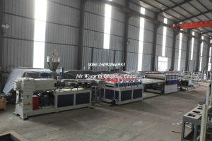 WPC Furniture Foam Board Production Line/Extrusion Machine