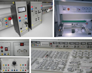 Electronics Trainer Electronics Workbench Electrical Engineering Lab Equipment Teaching Model pictures & photos