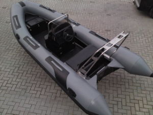 4.7m Fiberglass Inflatable Boat, Rib Boat, Fishing Boat, PVC or Hypalon Boat Rib470b with CE Cert for Sale pictures & photos