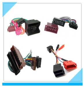 Factory Custom Automotive Car Stereo Wire Harness pictures & photos