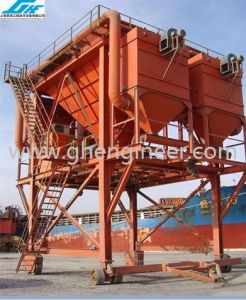 100cbm Rubber-Tyred Dust-Trap Hopper for Port Unloading (GHE-RTDH-310) pictures & photos