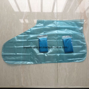 High Quality PE Folded Disposable Foot Cover with Arch Support