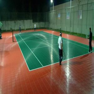 PP and PVC Interlock Floor for Indoor Sports pictures & photos