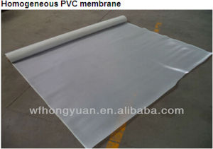 High Quality Polyvinyl Chloride PVC Waterproof Material with Fiber Backing (ISO Approved) pictures & photos
