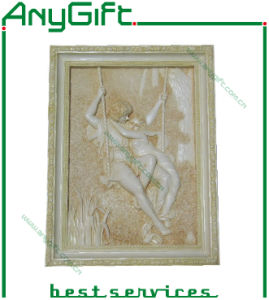 AG Polyresin Wall Decoration with Customized Logo 04 pictures & photos