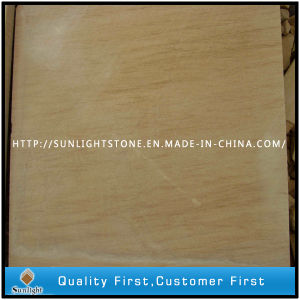 Natural Golden Sandstone for Outdoor Paving Tiles pictures & photos