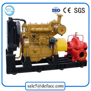 Trailer Mounted Double Suction Diesel Centrifugal Water Pump for Farmland pictures & photos