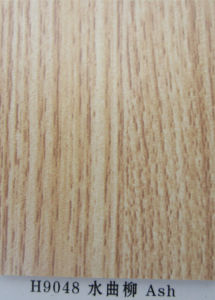 ISO9001: 2008 Furniture Grade E1 Glue Ash Color Melamine MDF (H9048) pictures & photos