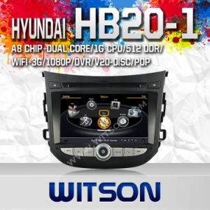 Car DVD Player for Hyundai HB20-1 with A8 Chipset S100 (W2-C239) pictures & photos
